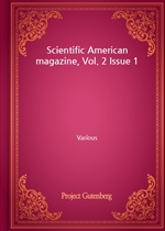 Scientific American magazine, Vol. 2 Issue 1