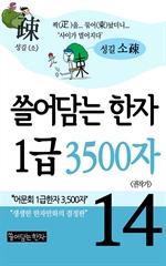 도서 이미지 - 쓸어담는 한자 1급 3500자 14