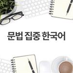 문법 집중 한국어