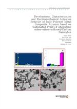 도서 이미지 - Development, Characterization and Electromechanical Actuation Behavior of Ionic Polymer Me