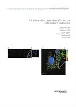 도서 이미지 - An ultra-fast mechanically active cell culture substrate