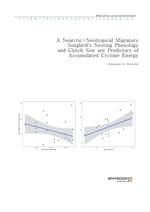 도서 이미지 - A Nearctic-Neotropical Migratory Songbird's Nesting Phenology and Clutch Size are Predicto