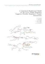도서 이미지 - A Canonical Biophysical Model of the CsrA Global Regulator Suggests Flexible Regulator-Tar