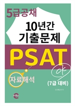 PSAT 5급 공채 10년간 기출문제(자료해석)