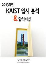 도서 이미지 - 2013 KAIST 입시 분석