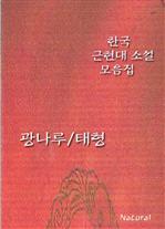 도서 이미지 - 한국 근현대 소설 모음집 - 광나루/태형