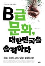 도서 이미지 - B급문화, 대한민국을 습격하다