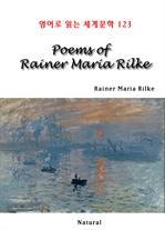 도서 이미지 - Poems of Rainer Maria Rilke (영어로 읽는 세계문학 123)