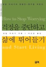 도서 이미지 - 걱정을 중단하고 삶에 뛰어들기