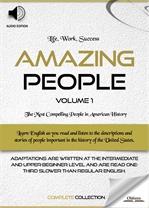도서 이미지 - Amazing People: Volume 1 (위인전집 + 오디오)