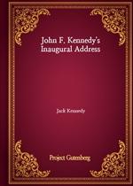 도서 이미지 - John F. Kennedy's Inaugural Address