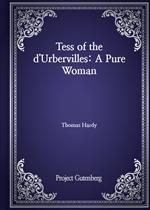 도서 이미지 - Tess of the d'Urbervilles: A Pure Woman