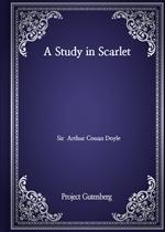 도서 이미지 - A Study in Scarlet
