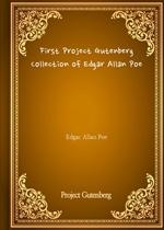 도서 이미지 - First Project Gutenberg Collection of Edgar Allan Poe