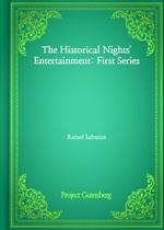 도서 이미지 - The Historical Nights' Entertainment: First Series