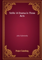 도서 이미지 - Strife: A Drama in Three Acts