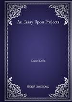 도서 이미지 - An Essay Upon Projects