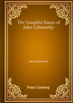 도서 이미지 - The Complete Essays of John Galsworthy