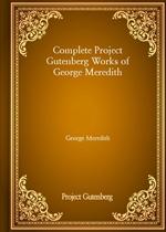 도서 이미지 - Complete Project Gutenberg Works of George Meredith