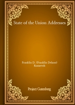 도서 이미지 - State of the Union Addresses - Franklin D. (Franklin Delano) Roosevelt