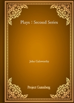 도서 이미지 - Plays : Second Series