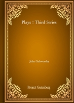 도서 이미지 - Plays : Third Series