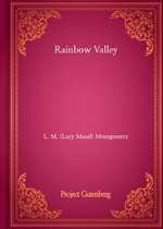 도서 이미지 - Rainbow Valley