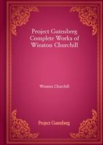 도서 이미지 - Project Gutenberg Complete Works of Winston Churchill