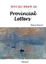 도서 이미지 - Provincial Letters