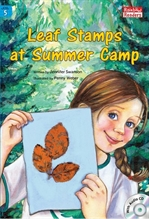 도서 이미지 - Leaf Stamps at Summer Camp
