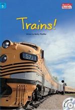 도서 이미지 - Trains!
