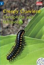도서 이미지 - Creepy Crawlers:Centipedes& Millipedes