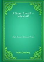 도서 이미지 - A Tramp Abroad - Volume 03
