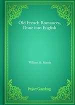 도서 이미지 - Old French Romances, Done into English
