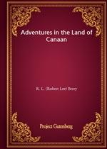 도서 이미지 - Adventures in the Land of Canaan