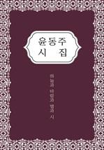 도서 이미지 - 윤동주 시집