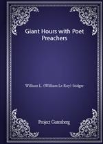 도서 이미지 - Giant Hours with Poet Preachers