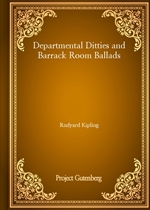 도서 이미지 - Departmental Ditties and Barrack Room Ballads