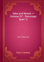 도서 이미지 - Tales and Novels - Volume 07 - Patronage [part 1]