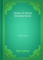 도서 이미지 - Stones of Venice [introductions]