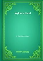 도서 이미지 - Wylder's Hand