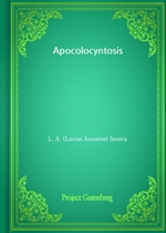 도서 이미지 - Apocolocyntosis