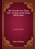 도서 이미지 - The Sorrows of a Show Girl - A Story of the Great 'White Way'