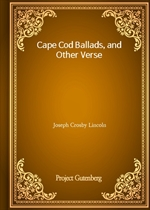 도서 이미지 - Cape Cod Ballads, and Other Verse