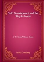 도서 이미지 - Self-Development and the Way to Power