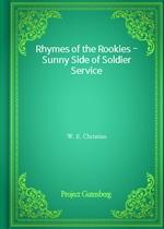 도서 이미지 - Rhymes of the Rookies - Sunny Side of Soldier Service