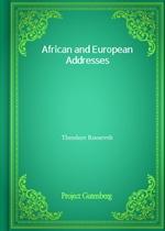 도서 이미지 - African and European Addresses