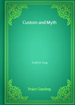 도서 이미지 - Custom and Myth