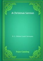 도서 이미지 - A Christmas Sermon