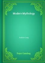 도서 이미지 - Modern Mythology